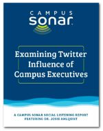 Examining Twitter Influence of Campus Executives
