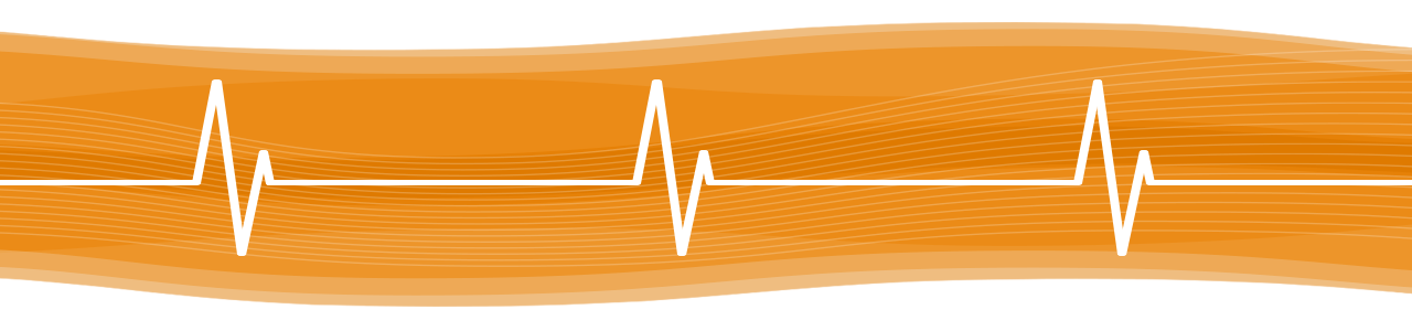 EKG diagram showing that social listening is used for issue monitoring on campus