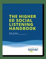 Tablet image of The Higher Ed Social Listening Handbook